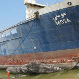 Bolsas a ar de desencalhe do navio da qualidade durável para a colocação de tubulação