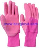 Le latex badine le gant de jardin