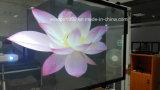 Película de retroprojecção transparente, Película de tela