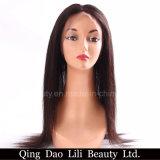 Billig gerade natürliches Stirnbein-Schliessen-Jungfrau-Haar des Haarstrich360