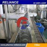 Frascos estéril de cristal automáticos que llenan la máquina que prensa