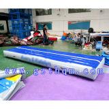 파란 PVC Air Track 또는 Indoor Exercise Air Track
