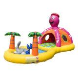 El pulpo Playzone Combo de inflables inflables bouncer para niños CB0702