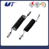 Câble électrique de remorque de voie du câble électrique 7 de Pin du câble 7 de spirale de câblage cuivre d'Ebs d'ABS de camion de remorque
