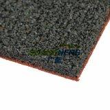 Il centro di forma fisica mette in mostra le mattonelle di gomma della gomma di assorbimento di scossa della pavimentazione