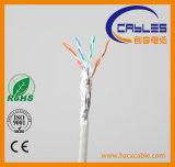 Cable de red FTP Cat5e con RoHS, ISO, CE