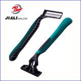 高品質の三重の刃の使い捨て可能な剃るかみそり(普及した)