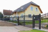 Nuovo cancello semplice della strada privata dell'entrata di stile di Europen