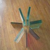 Janela de vidro float incolor acessório e a construção de vidro decorativo