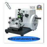 Microtome giratório manual do laboratório econômico