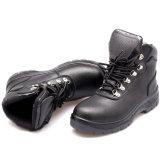 Convergência de aço preto Anti Smash botas de segurança para homens
