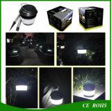 Petite lampe LED solaire ronde Post lumière solaire Lanterne solaire de jardin Anti-Mosquito Chemin Lumière solaire