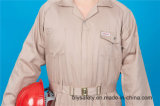 Da alta qualidade longa da segurança da luva do poliéster 35%Cotton de 65% combinação barata (BLY2007)