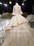 A Esfera Aolanes Beca ilusão de manga com vestido de noiva111319