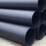 125mm de grau PE80 tubo de HDPE de cor preta para o abastecimento de água