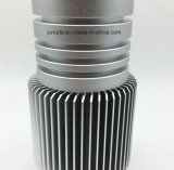 Части CNC поворачивая филируя алюминиевые запасные, части света логоса алюминиевые, алюминий солнцецвета, анодированные алюминиевые части, латунь/сталь/части металла алюминия филируя