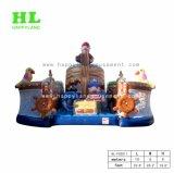 De commerciële Purpere Opblaasbare Speelplaats van het Kasteel van de Cake