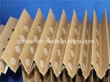 Tipo plissado do papel de filtro V (manufatura), filtros sanfona (antiflaming)