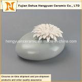 Aroma Stone Jar Flor Fragrância Cerâmica Aroma Garrafa Queimador com Flor