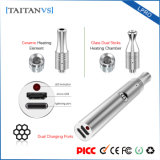 Taitanvs Lpro 300mAh Dual Vaporizer eletrônico do fumo do cigarro aquecimento cerâmico/de vidro da bobina