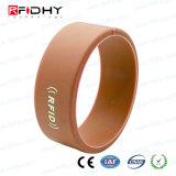 IP68 Silicon impermeabile / silicone RFID di prossimità Tag Wristband di gomma