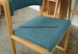 A sala de visitas de madeira contínua das cadeiras preside as cadeiras do café (M-X2056)