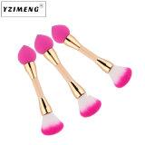 Puff Brosse brosse Double Blush Brosse brosse de maquillage Beauty Tools