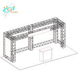 Il sistema di visualizzazione leggero di mostra della fiera commerciale sostituisce il fascio di alluminio