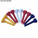 Multi Farben-neuer Plastik mit Gummispitzengolf-T-Stücken