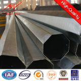Galvanisierter elektrischer Stahlpole für Zeile der Verteilungs-110kv