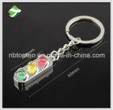 Trousseaux de clés souples populaires de boucle principale de signalisation de trousseau de clés modèle de feux