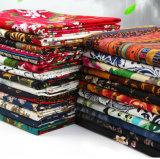 100%Impressão de algodão de tecido de algodão para Vestir calça crianças roupas