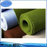 De gerecycleerde Geweven Gevoelde Stof van de Polyester niet