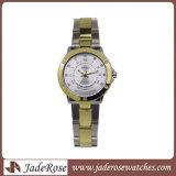 호화스러운 석영 여자 시계 여자 손목 시계 모조 다이아몬드 숙녀 형식 시계