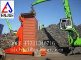Scarico idraulico elettrico dei giralingotti del contenitore e del contenitore e caricamento del contenitore
