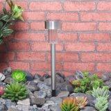 Indicatore luminoso solare esterno del giardino LED del percorso dell'acciaio inossidabile