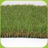 Synthetische Faser-Einzelheizfaden-synthetisches Gras-natürlicher Blick