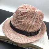 Chapéu da cubeta do lazer da forma com projeto e logotipo de Customed