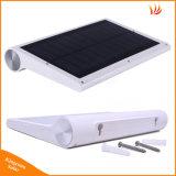 Lumière extérieure de jardin de 42 DEL de lampe de mouvement de détecteur de lumière de lampe solaire solaire extérieure de garantie