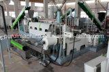 LDPE van het afval de Wasmachine van het Recycling van de Film met Plastiek die Machine drukken