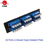 1U 36 núcleos de fibra óptica para montagem em rack Patch Panel
