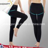 De enkel-Lengte van de Geschiktheid van de Training van de Yoga van de Legging van de hoge Vrouwen van de Taille de Lopende capri-Broek van de Yoga van de Broek voor Gymnastiek