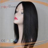 Parrucca superiore di seta di qualità superiore dei capelli umani (PPG-l-0402)