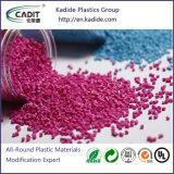 Proveedor de la fábrica de plástico de color rojo Masterbatch