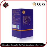 El papel de regalo de la impresión en color cuello caja de embalaje