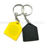 ABS Keyfob de Keychain RFID da proximidade do Tag chave 125kHz de preço de fábrica