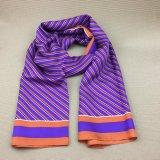 La seta di 100% ha stampato la sciarpa stampata Mens su ordinazione di modo