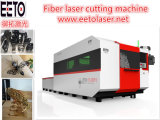 Tagliatrice del laser della fibra di CNC di alta qualità per il taglio dell'illustrazione del metallo