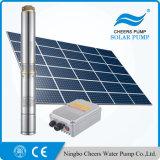 Pompe à eau solaire de forage submersible de puits profond de 2 pouces