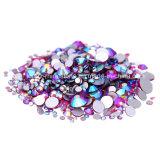 Buena calidad Fucsia Ab SS20 No Hot Fix Rhinestone Crystal Stone accesorios* (FB-SS20 fucsia ab)